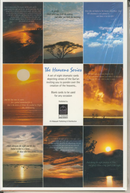 The Heavens Series - A Set of Eight Blank Greeting Cards by Al-Hidaayah