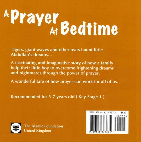 A PRAYER AT BEDTIME H/B By  Zaynab Dawood