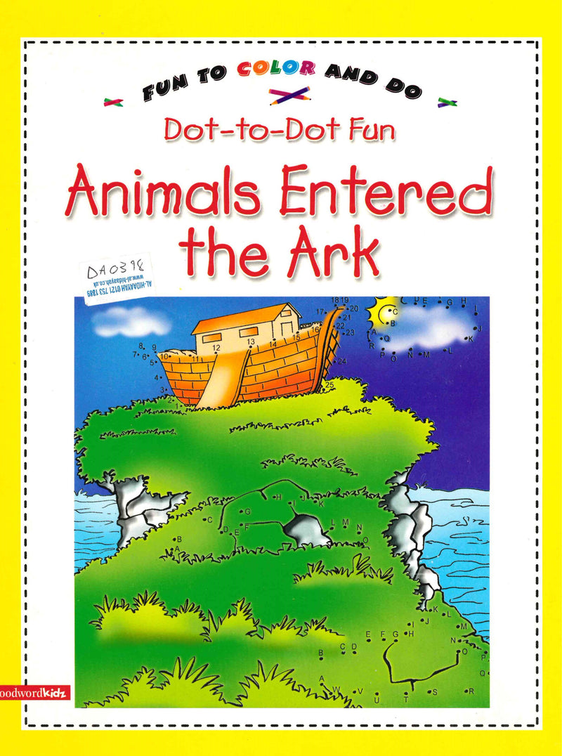 Animals Entered the Ark Colouring Book