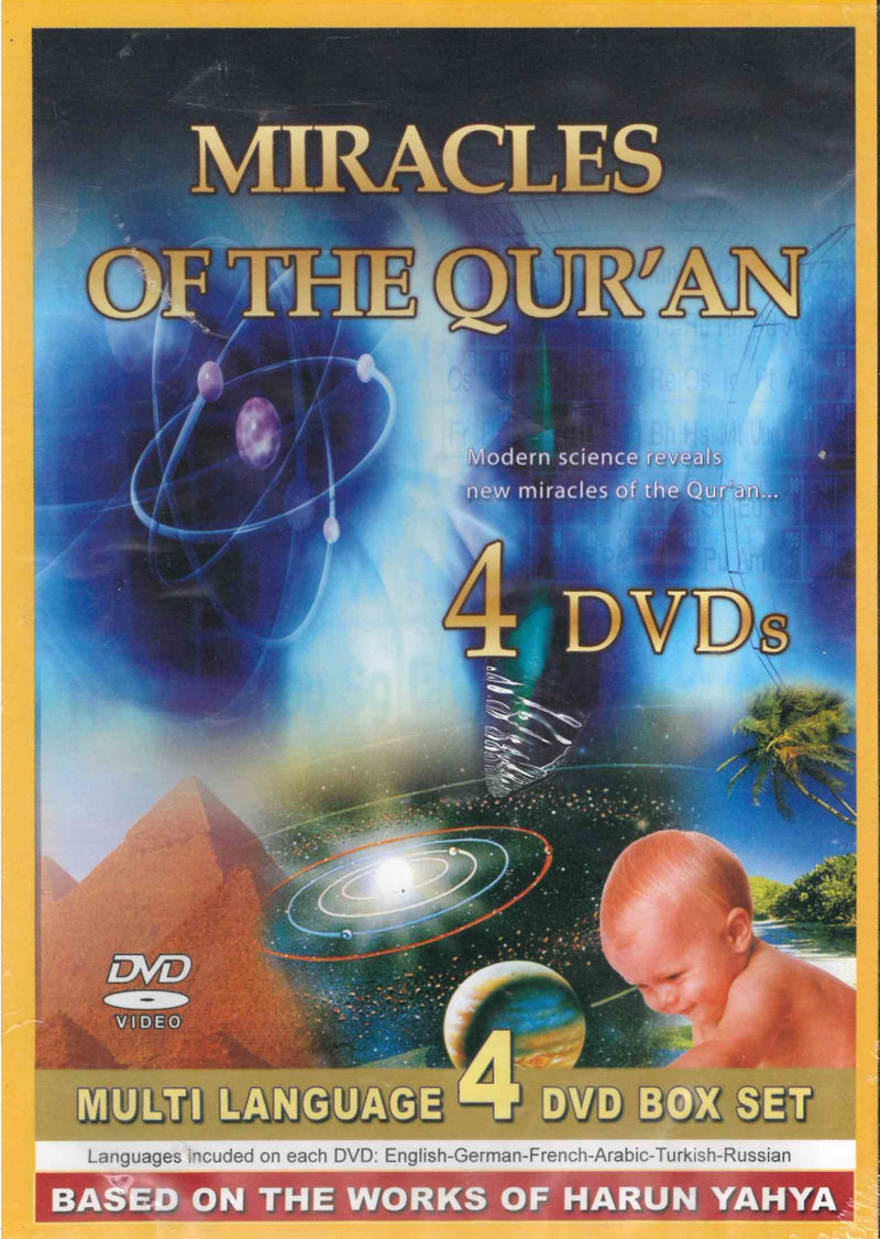 Miracles of the Qur'an DVD  Based on the Works of Harun Yahya