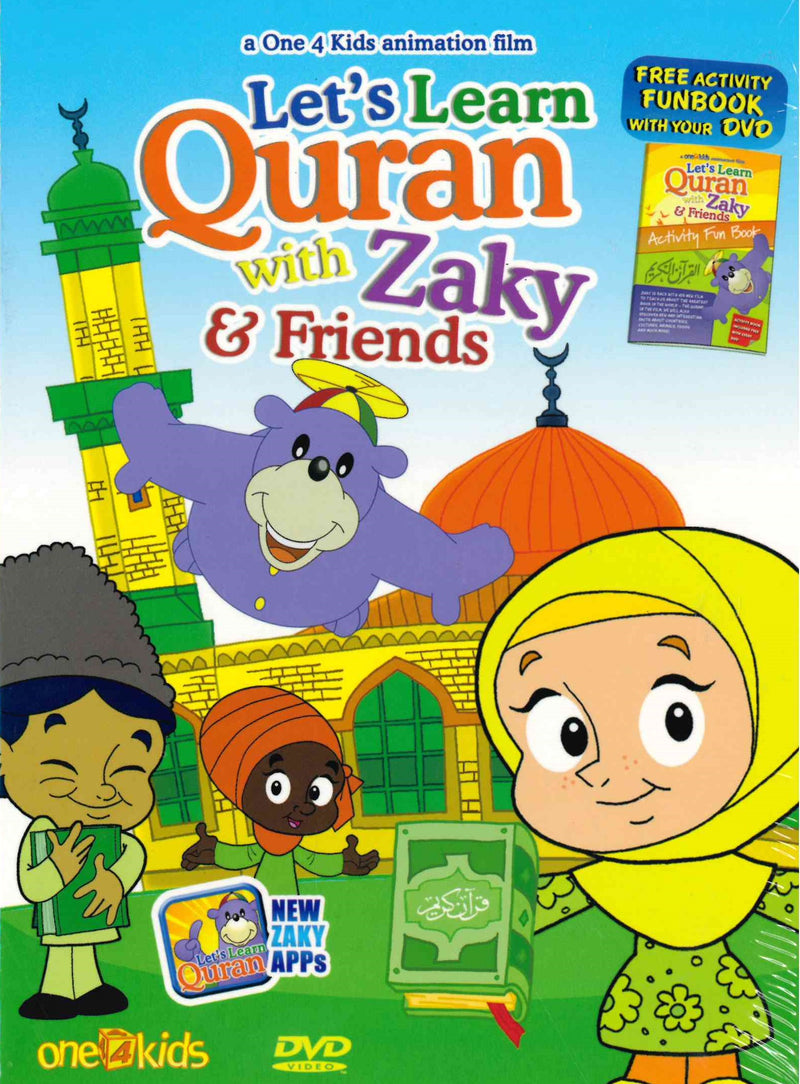 Let's learn the Quran with Zaky & Friends by one4kids DVD