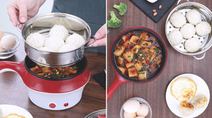 MULTIFUNCTIONAL ELECTRIC COOKER with Free Adaptor