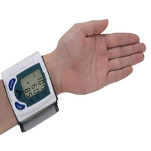 Load image into Gallery viewer, DIGITAL WRIST BLOOD PRESSURE MONITOR