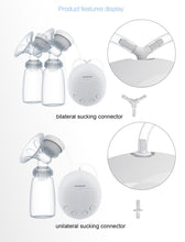 Load image into Gallery viewer, DOUBLE ELECTRIC BREAST PUMP