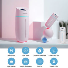 Load image into Gallery viewer, ULTRASONIC AIR HUMIDIFIER