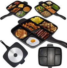 Load image into Gallery viewer, 5 in 1 NON-STICK GRILL PAN