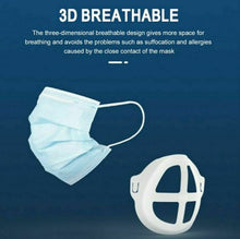 Load image into Gallery viewer, 3D BREATHING SILICONE BRACKET (Pack of 3)
