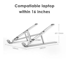 Load image into Gallery viewer, ADJUSTABLE LAPTOP STAND