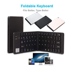 Load image into Gallery viewer, WIRELESS BLUETOOTH FOLDABLE KEYBOARD