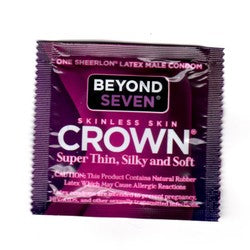 Beyond Seven CROWN Condom Standard Fit