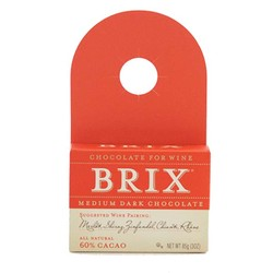 Brix Bottle Topper Medium Dark Chocolate 3 oz
