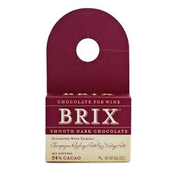 Brix Bottle Topper Smooth Dark Chocolate 3 oz