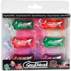 Doc Johnson Good Head Flavored Oral Sex Gel Pillow Packs
