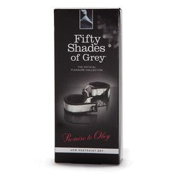 Fifty Shades of Grey Promise to Obey Arm Restraint Set