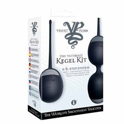 Iconic Brands Velvet Plush The Ultimate Kegel Kit