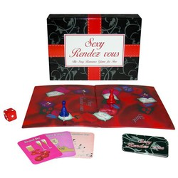 Kheper Games Sexy Rendezvous Romance Game for Two