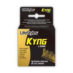 Lifestyles KYNG Condom Large Fit
