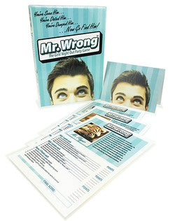 Mr Wrong The Girls Night Out Party Game