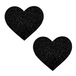 Nipztix Pasties Black Malice Hearts
