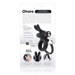 Screaming O Charged Ohare Rechargeable Wearable Rabbit Vibe
