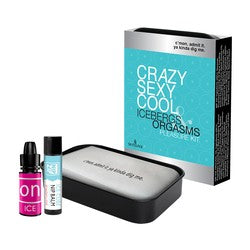 Sensuva Crazy Sexy Cool Icebergs and Orgasms Pleasure Kit
