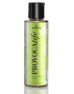 Sensuva Provocatife Hemp Oil and Pheromone Infused Massage Oil