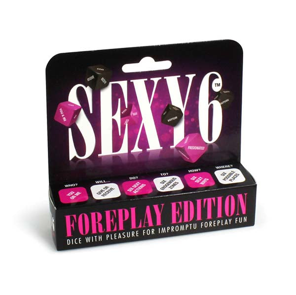 Creative Conceptions Sexy 6 Dice Foreplay Edition