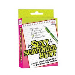 Sexy Scavenger Hunt Game