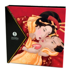 Shunga Erotic Art Geisha's Secrets Gift Set Sparkling Strawberry Wine
