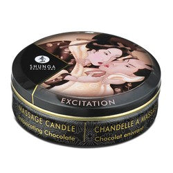 Shunga Erotic Art Mini Massage Candle Excitation Intoxicating Chocolate