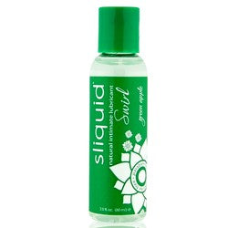 Sliquid Swirl Natural Intimate Lubricant Green Apple