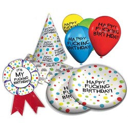 X Rated Birthday Party Pack
