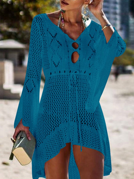 Long Sleeve Holiday Casual Dresses