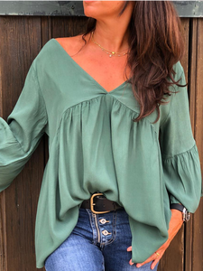 Long Sleeve Plus size Casual Shirt