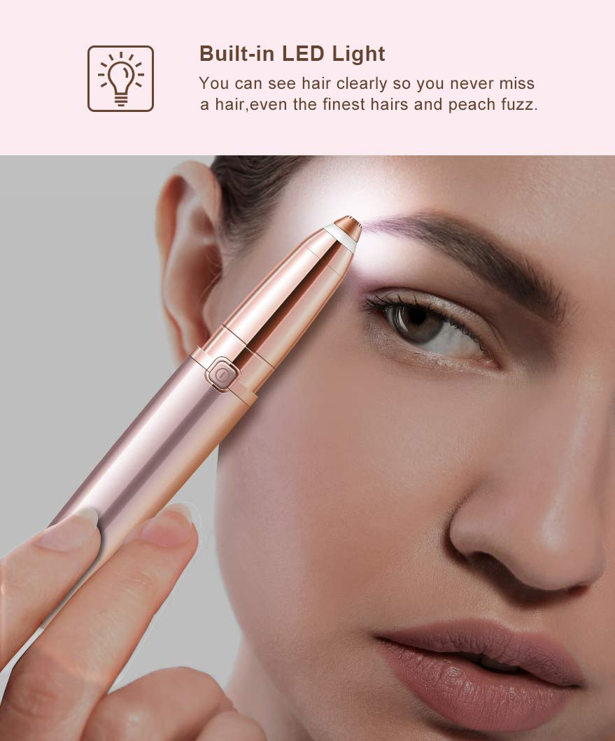 Painless eyebrow shaper