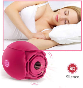 Rose Shape Vagina Sucking Vibrator
