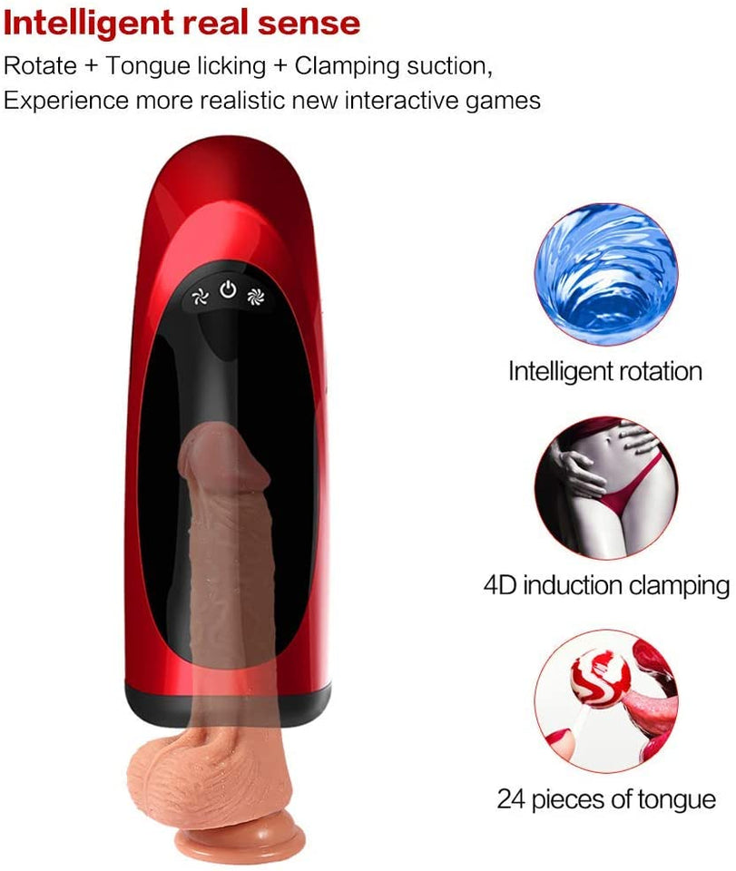Penis Endurance Blow Job Mouth Piston Men Oral Sex Cup