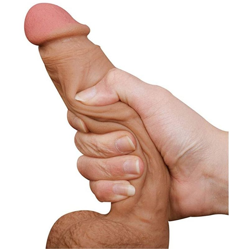 Realistic Dildo with Strong Suction Cup