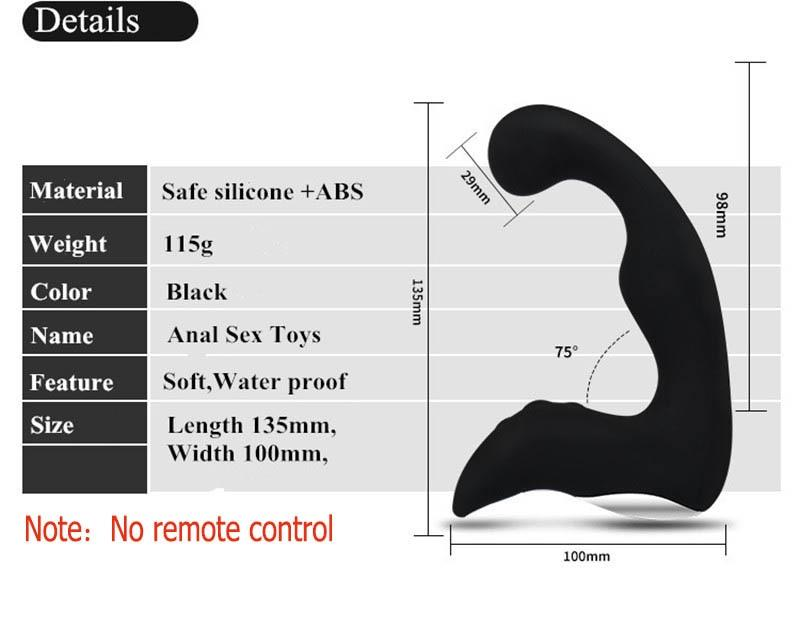 10 Speed Naughty Boy Vibrating Prostate Massager Lusty Age