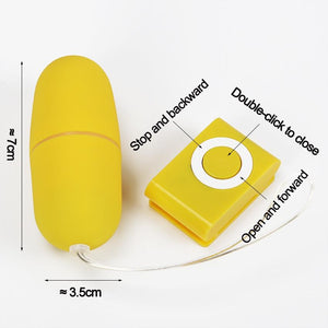 MP3 Remote Control Vibrating Egg Lusty Age