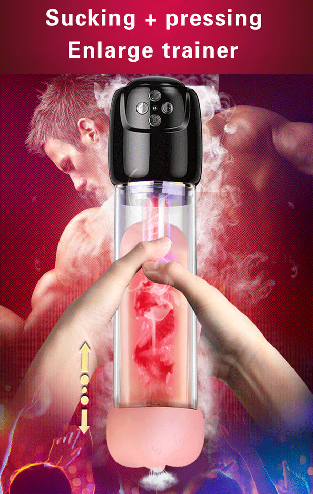 Automatic Penis Enlargement Vibrator & Male Mastubator