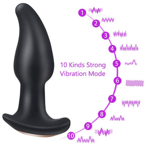 Anus Vibrator Rotation Beads Prostate Massager