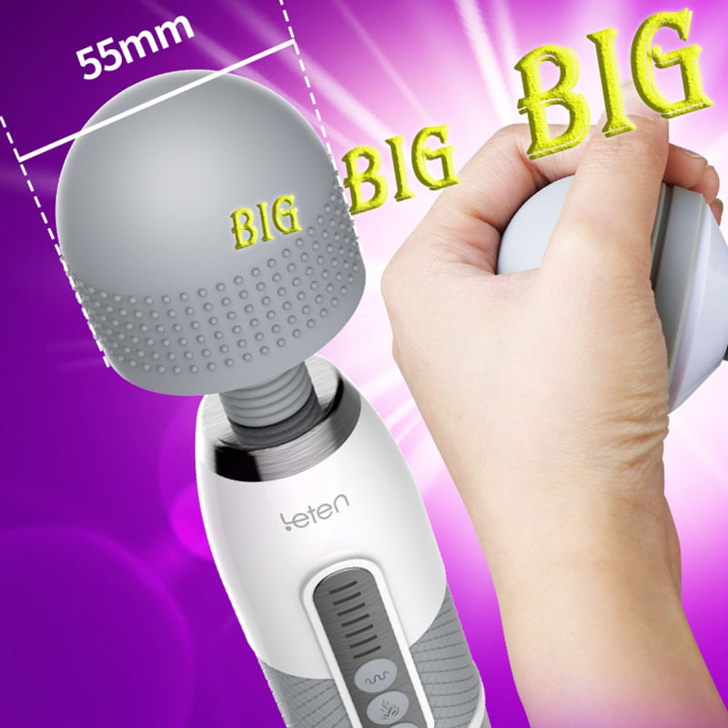 Powerful Giant Vibrator Powerful Massager Magic Toy