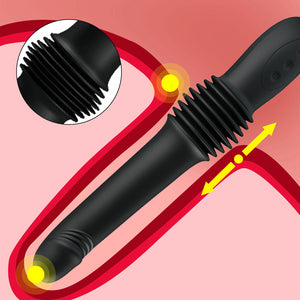 3 Speeds Telescopic  Vagina G-Spot Vibrator