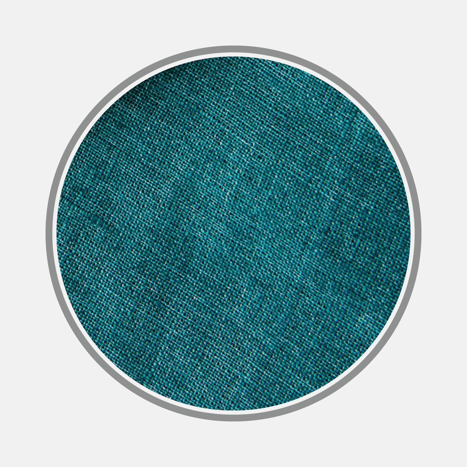 Plain Teal Linen Fabric