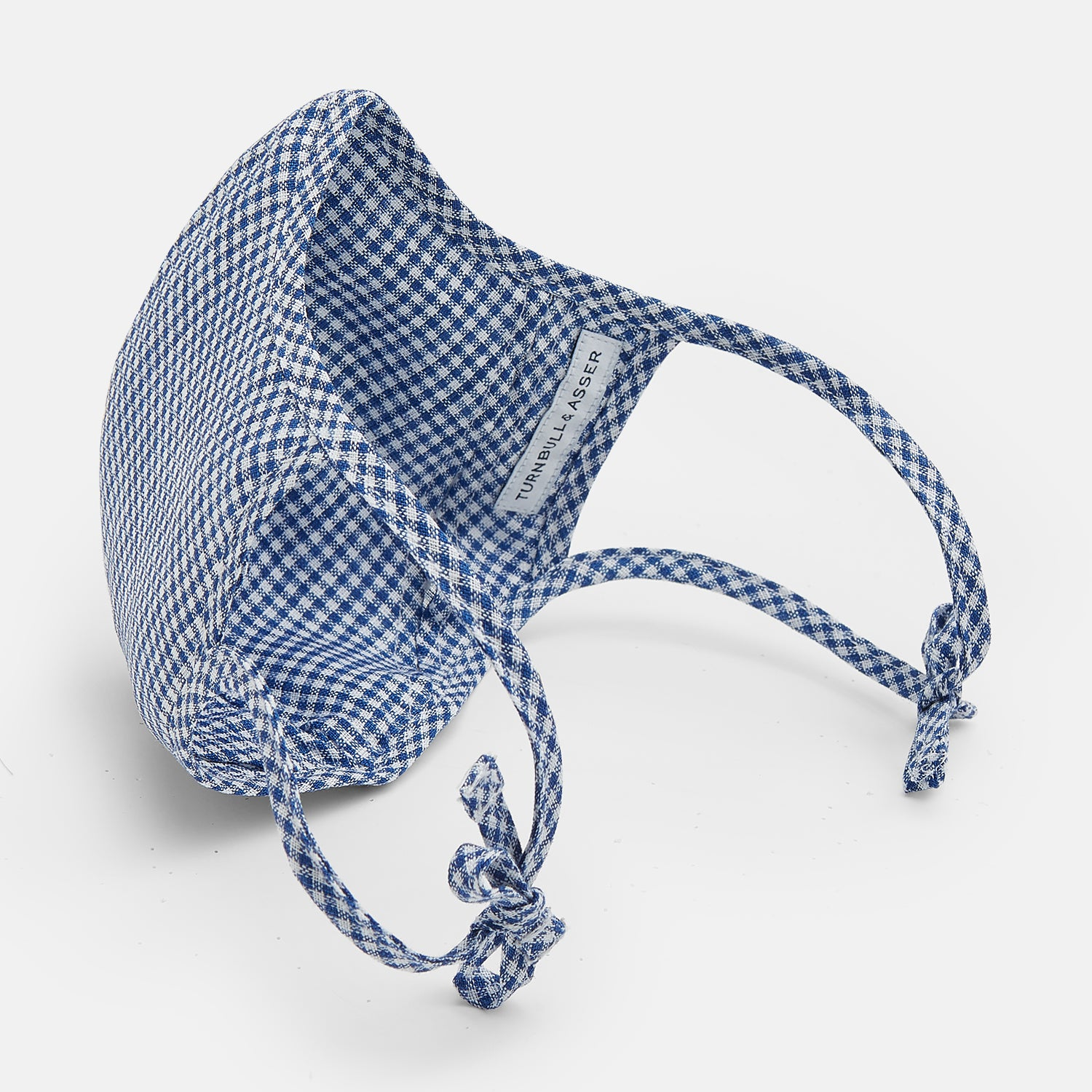 Blue, Yellow & Pink Candy-Striped Cotton Commuter Mask with 3 VIROFORMULA™ filters