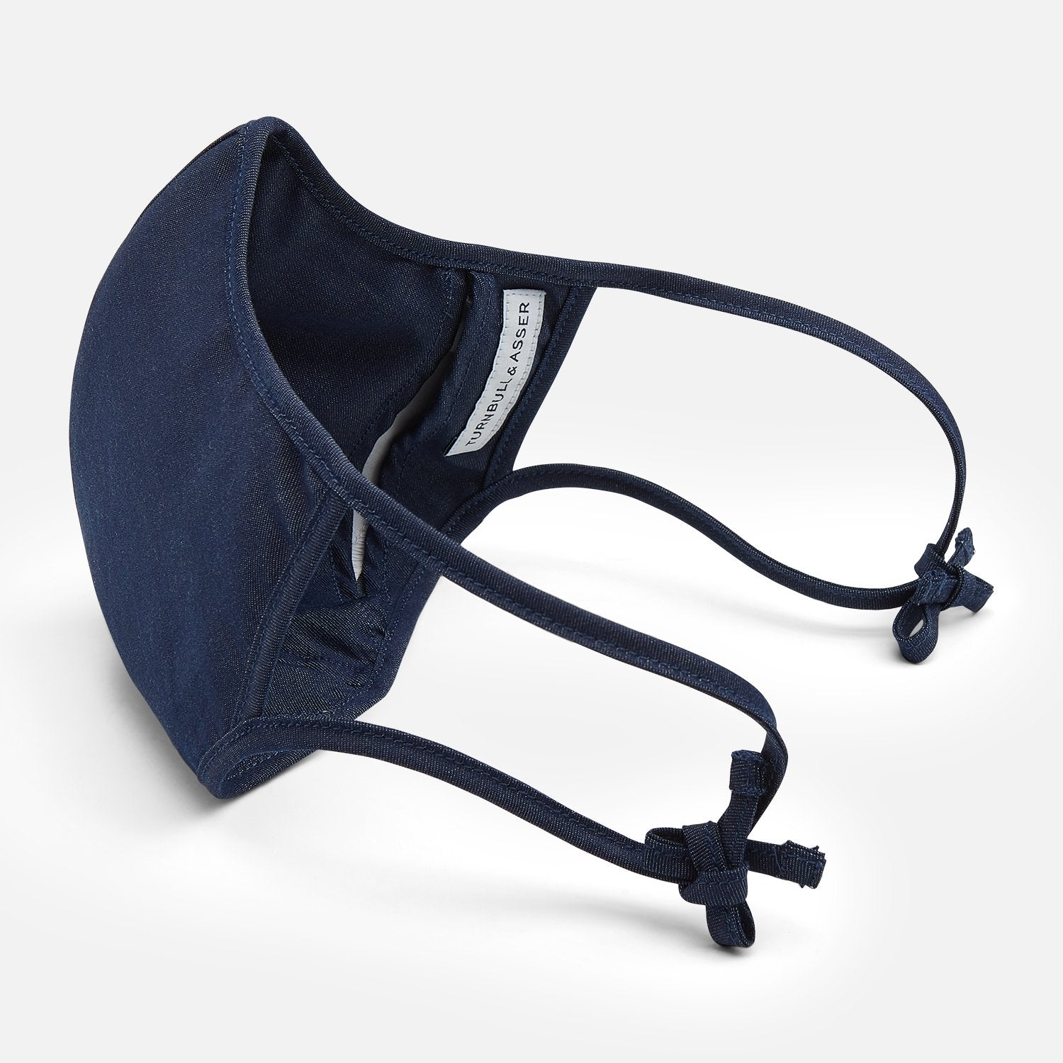 Navy Superfine Cotton Commuter Mask With 3 Viroformula™ Filters