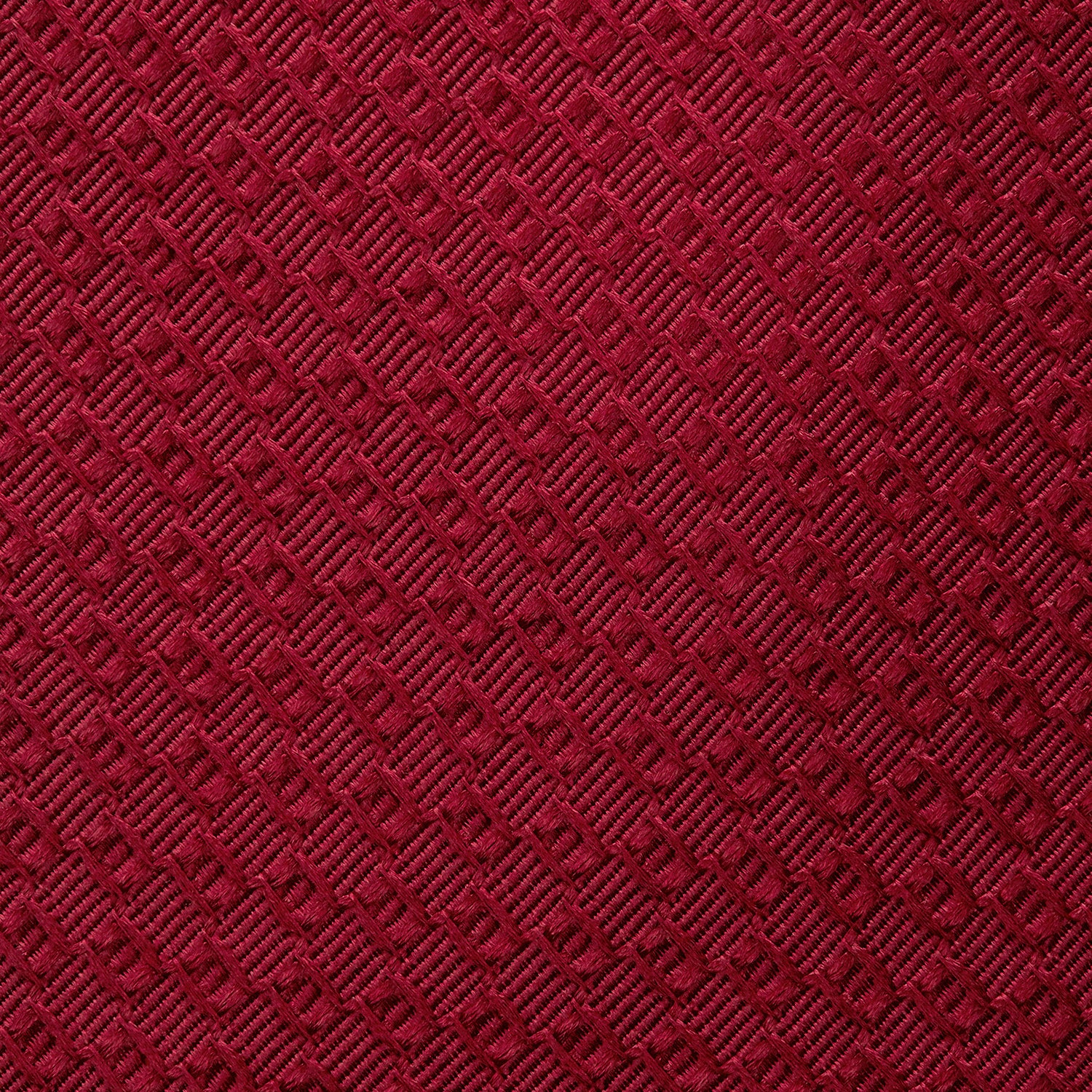 Burgundy Abstract Tonal Silk Jacquard Tie