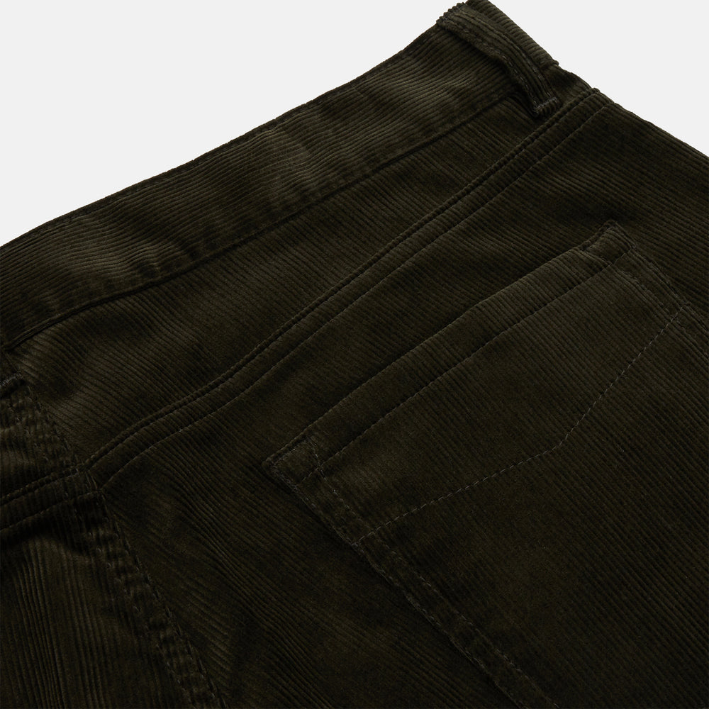 Olive Green Cord Mylo Trousers
