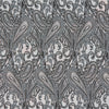 Silver House Paisley Print Silk Pocket Square